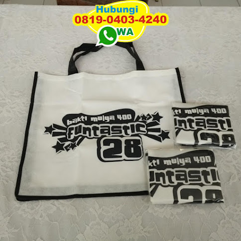 distributor souvenir pernikahan tas spunbond murah 54099