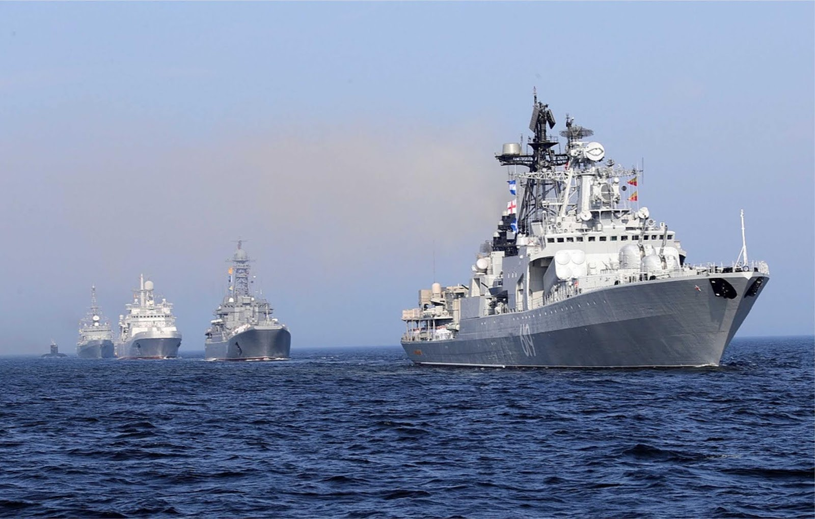 Armada Laut Hitam akan ditambahkan empat kapal baru pada akhir 2018 dan awal 2019