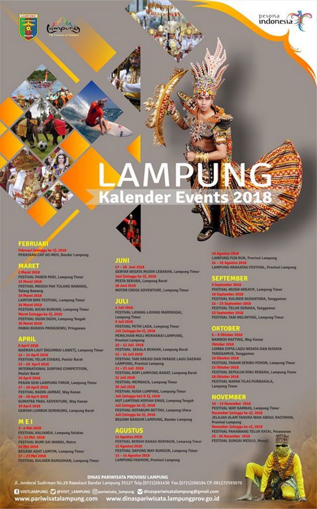 lampung kalender event