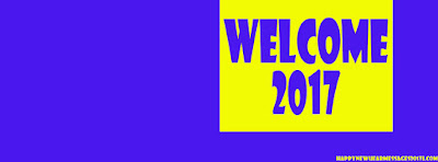 Welcome 2017 Facebook Cover HD Photo