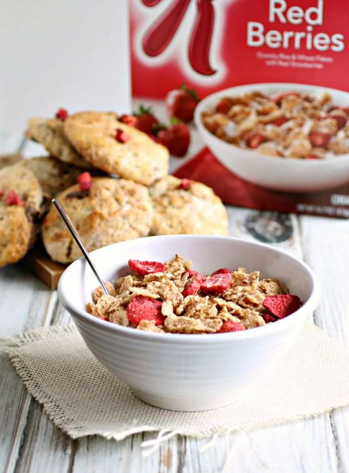 Special K Red Berries Breakfast Scones