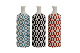 3 Piece Ceramic Vase Set from Beautiful and Stylish Vase Collection