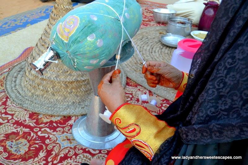 Dubai Cultural Tour: traditional craft at Dubai Heritage Village