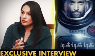 Actress Rethika Srinivas Interview | Tik Tik Tik