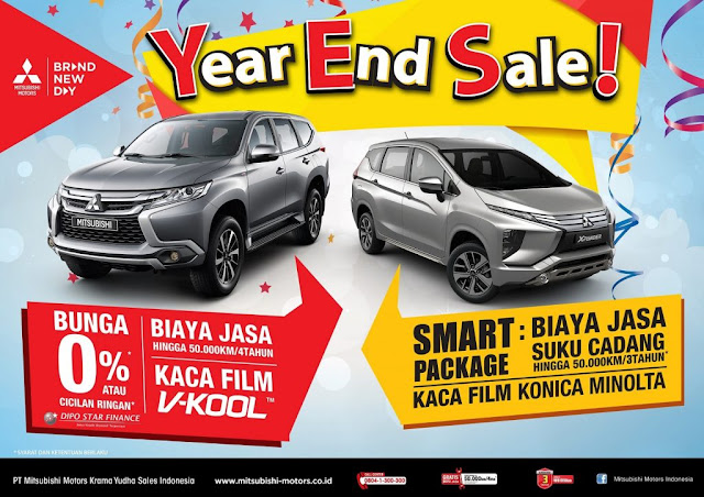 Mitsubishi Bintaro Year End  Sale