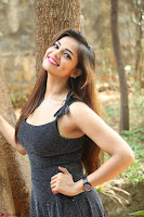 Aswini in lovely Deep Neck Sleeveless Black Dress Spicy Pics ~  Exclusive 38.JPG