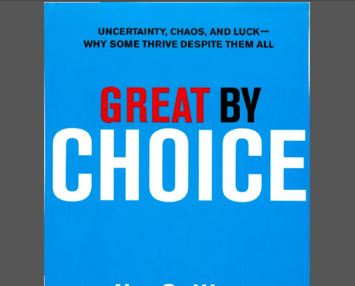 james c collins morten t hansen great by choice english book in