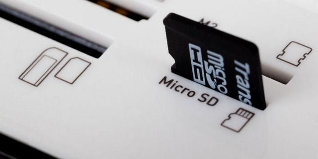 إصلاح بطاقة sd card الخارجية التالفة لاجهزة الاندوريد.