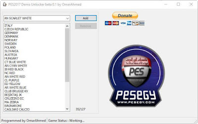 PES 2017 Demo Unlocker beta 0.1 by OmarAhmed