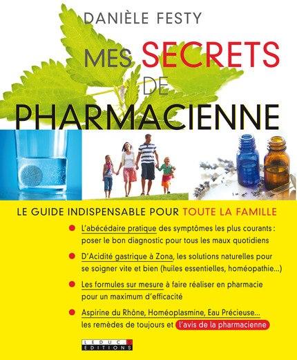 Mes secrets de pharmacienne.