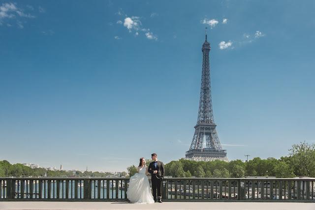 法國巴黎婚紗 艾菲爾鐵塔 Elffer Tower