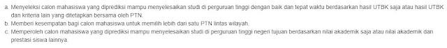 Tujuan SBMPTN 2019, http://www.librarypendidikan.com/