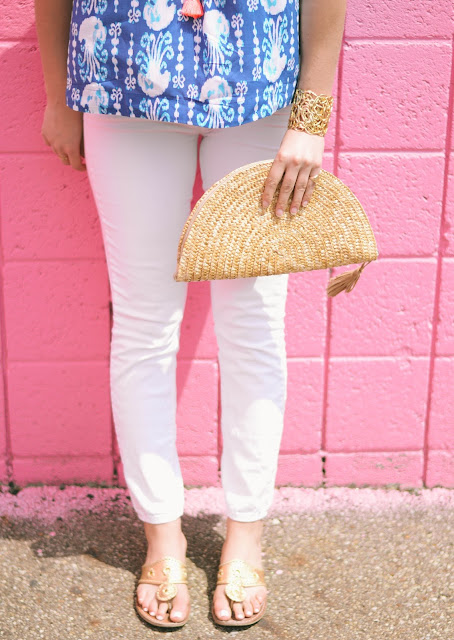 jack rogers sandals styled