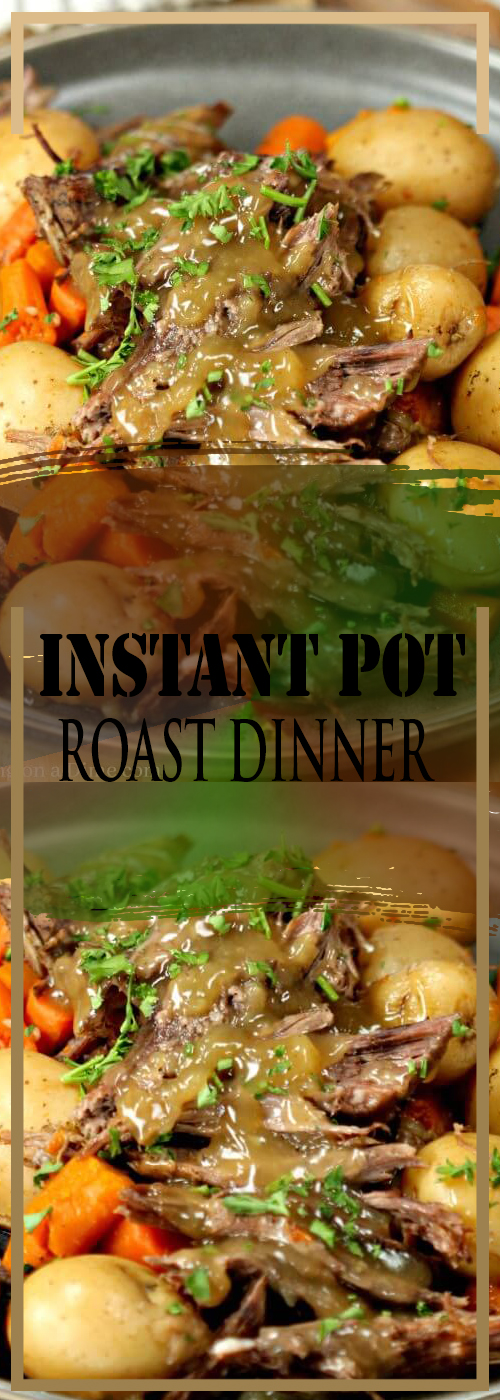 INSTANT POT ROAST DINNER RECIPE
