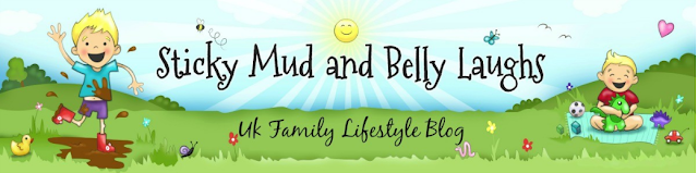 Sticky mud & belly laughs banner