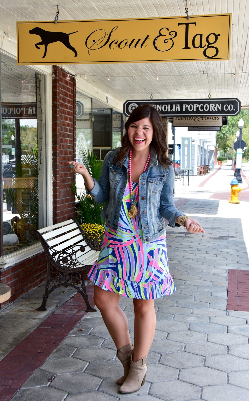 Colorful Fall Fashion with Lilly Pulitzer