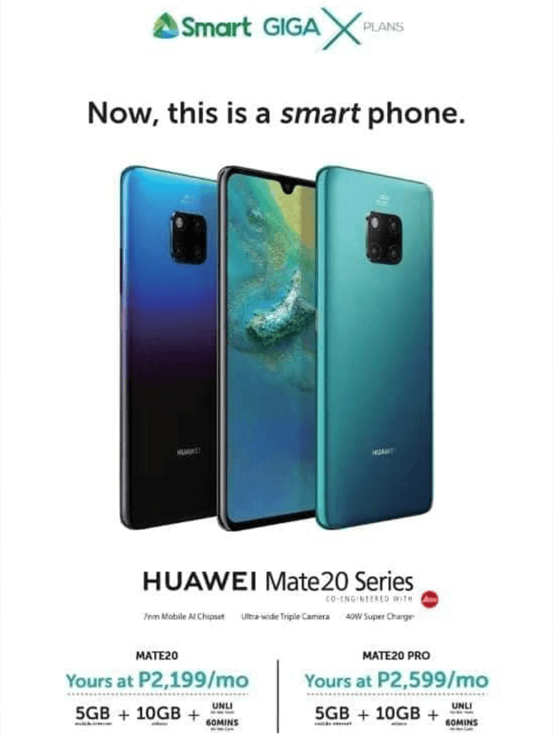 The new Smart GigaX plan for the Mate 20 series!