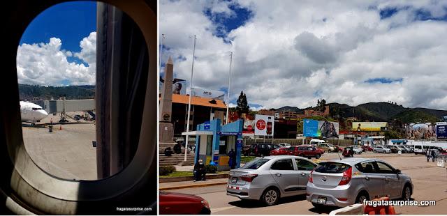 Aeroporto de Cusco, Peru