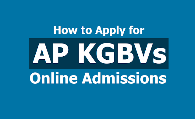 How to Apply for AP KGBVs 6th, 7th, 8th Class Admissions 2019, Apply Online till May 11