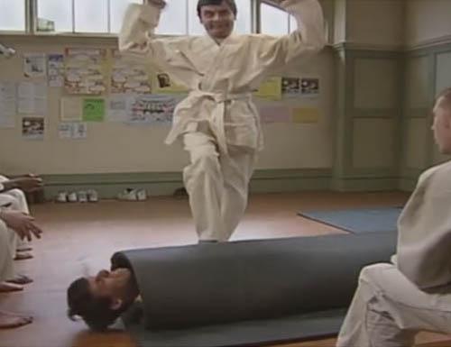 mr bean judo