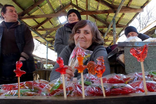 Home made lollipops georgia