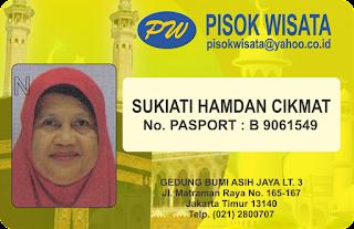 ID Card Umroh Depan