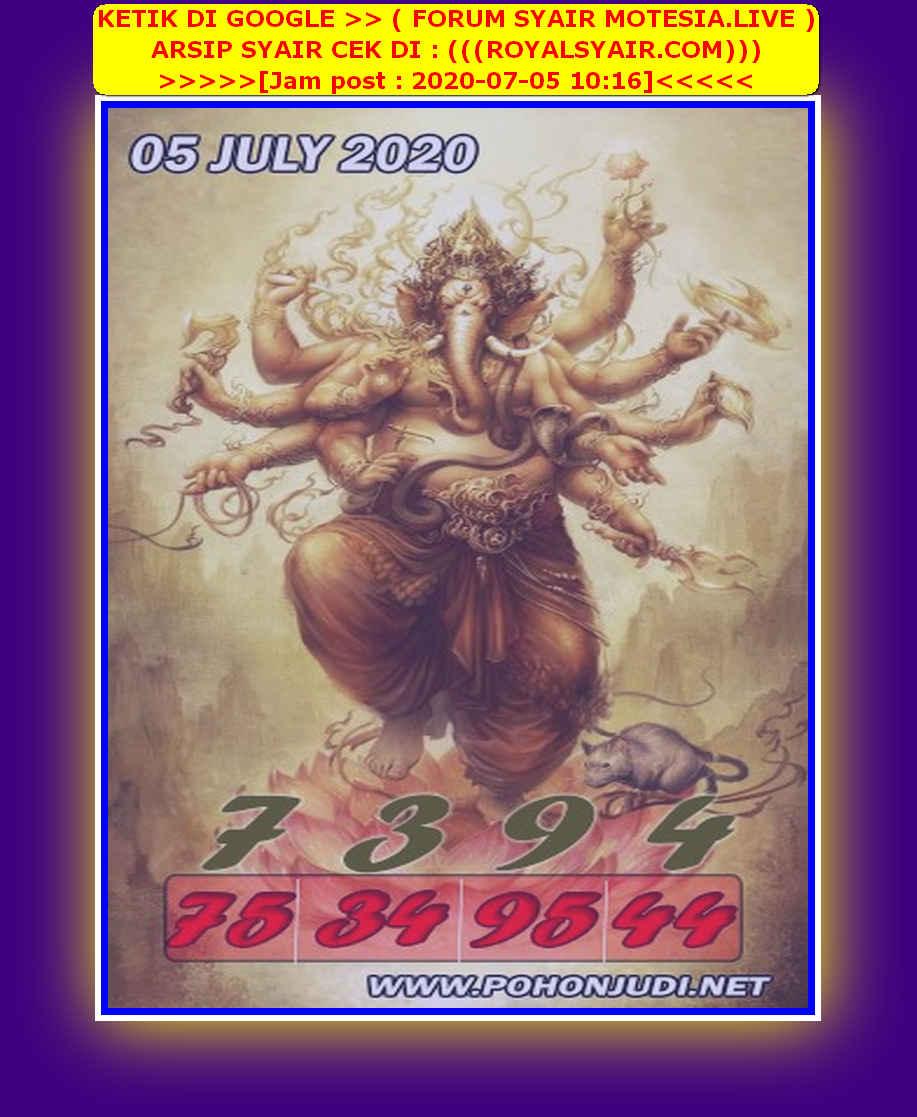 Kode syair Sydney Minggu 5 Juli 2020 145