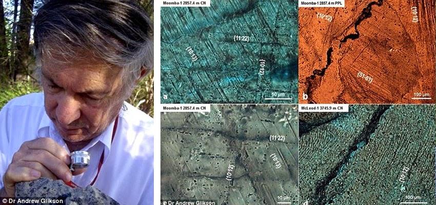 Dr. Andrew Glikson cratera austrália