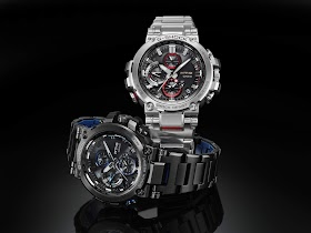 Casio G-SHOCK Adds To Men's Luxury MT-G Collection With Two New Connected Timepieces