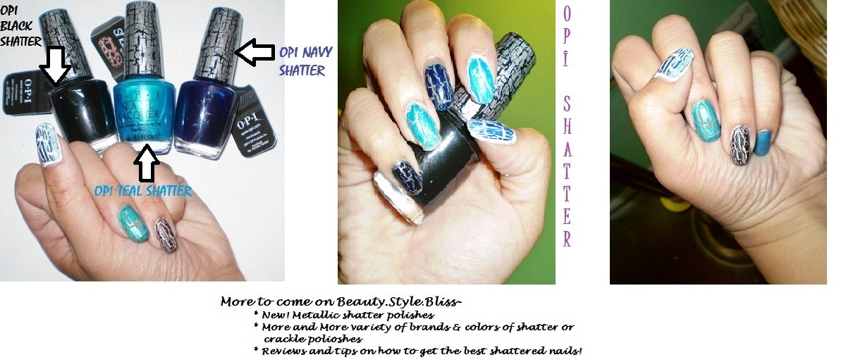 shatter polishes beauty style bliss