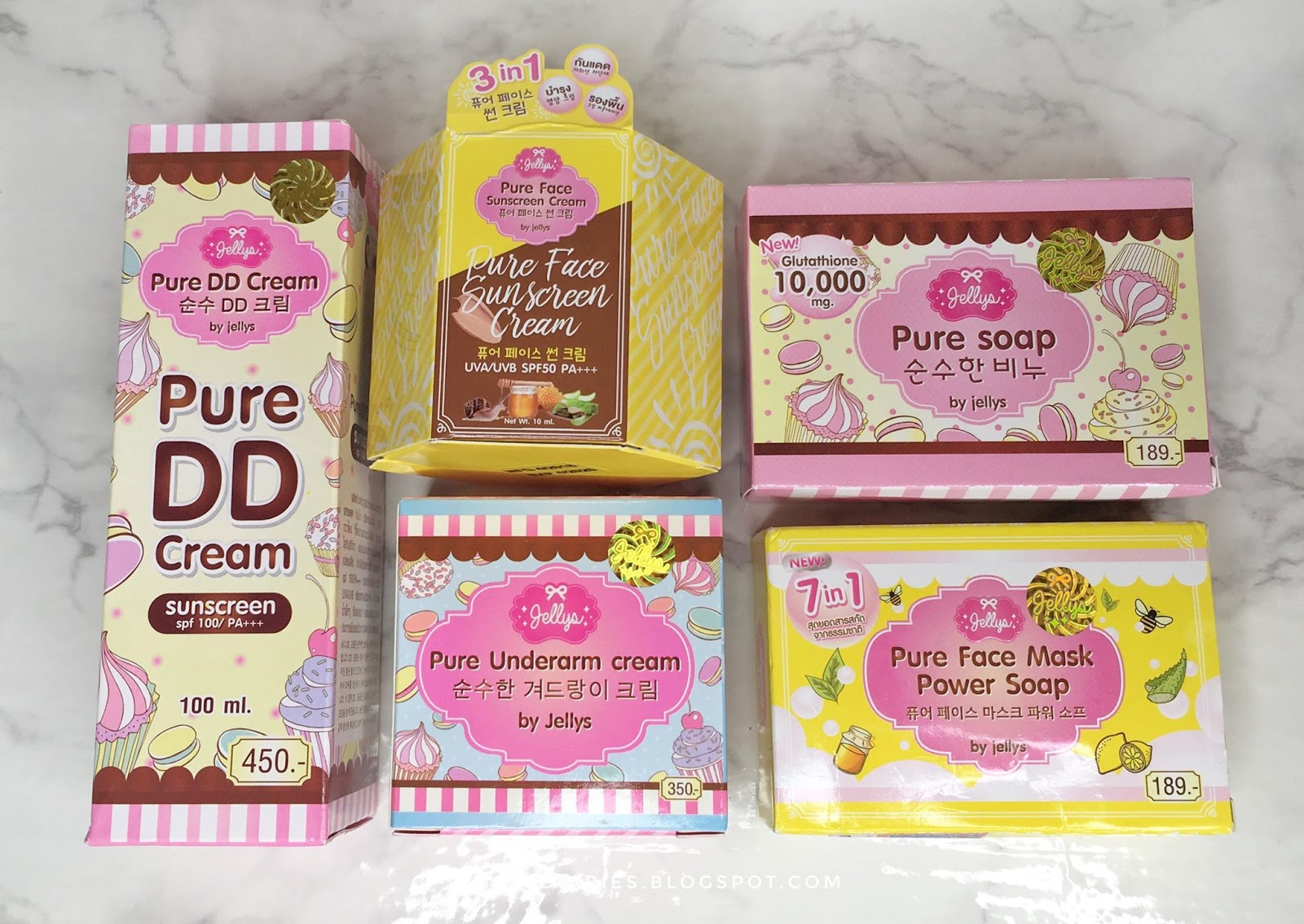 Miss Gs Diaries Thai Beauty Testing And Skincare Products Jellys Pure Face Mask Power Soap I Received These For Free From An Online Seller On Facebook Not My First Time To Try Thailand Made Because If You Remember