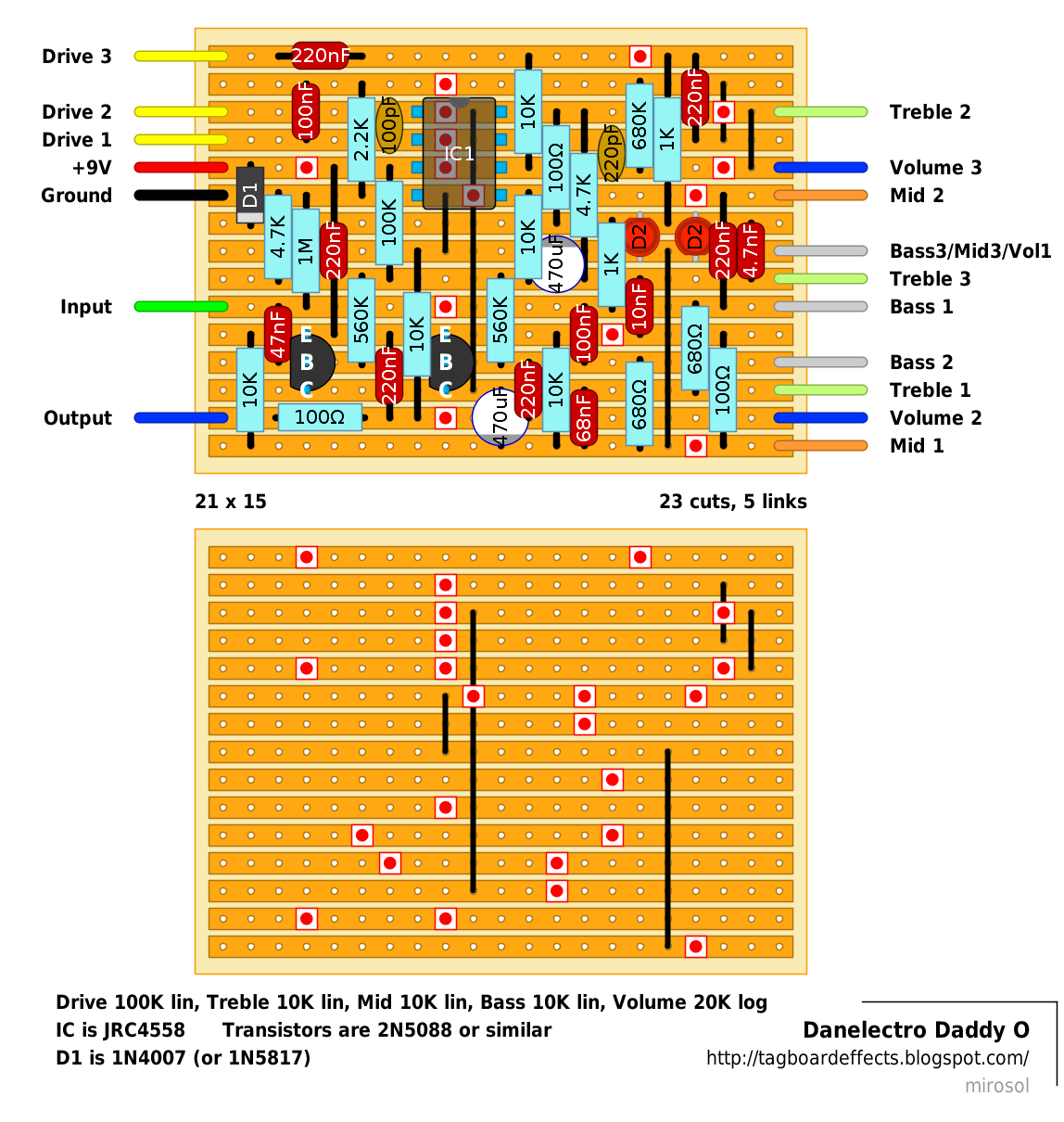 now that we already have the fab tone layout published i felt that we need to have this one too slightly simpler circuit with more controls  [ 1148 x 1210 Pixel ]