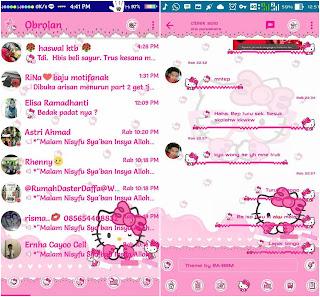 BBM Mod Hello Kitty v3.3.3.39 Apk