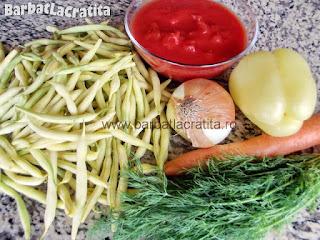 Ciorba de fasole verde ingrediente reteta