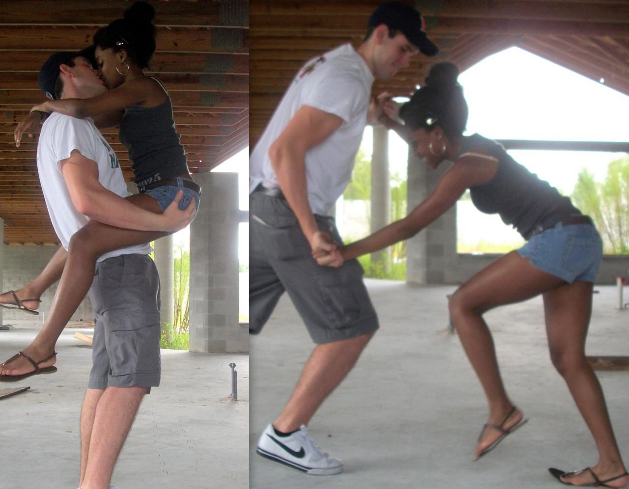 Dating a cute black girl