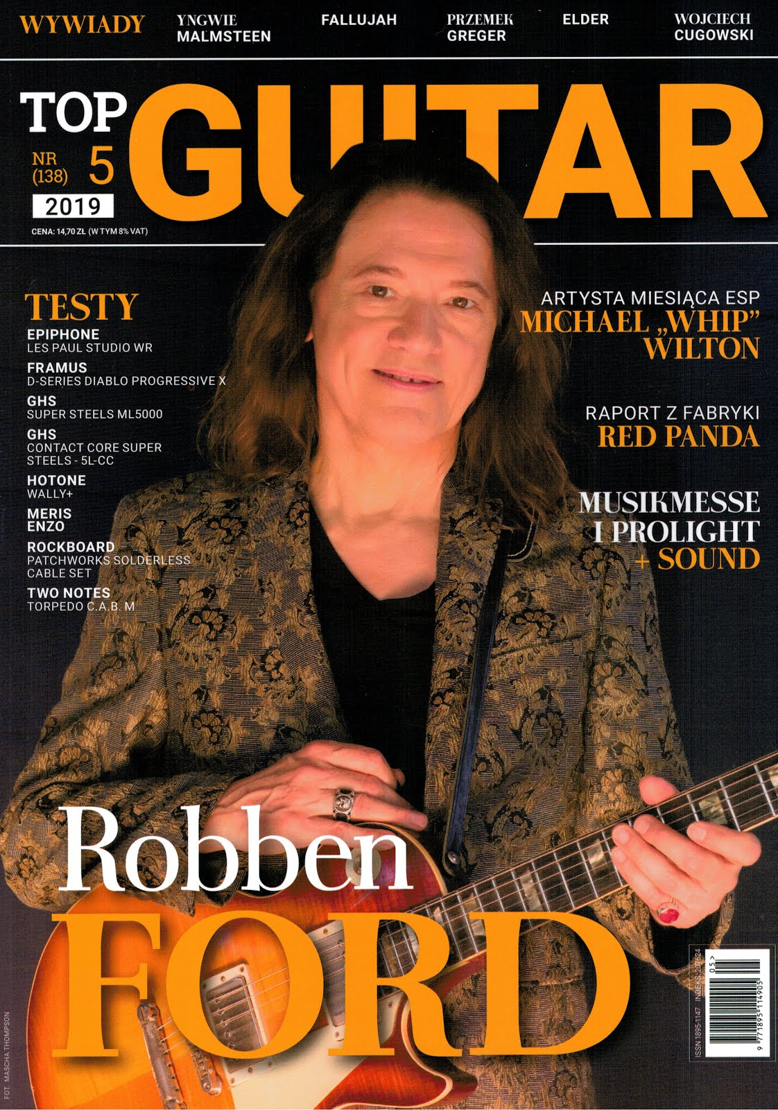 TOP GUITAR 5/2019, str. 44-45
