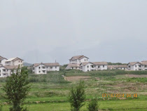 "Kaesong ""Show Village,"" just outside the DMZ on North Korean side -- Nobody lives there!"