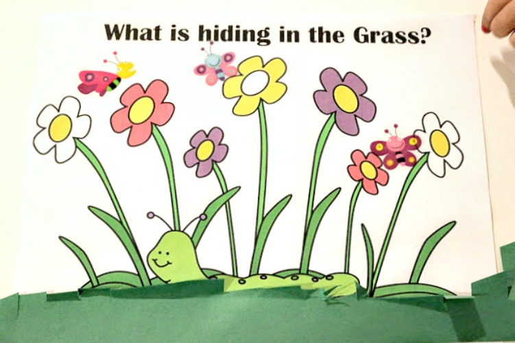 In the Tall, Tall Grass Preschool Fine Motor Activity