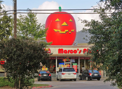 Halloween at Marco's Pizza 1315 S. Dairy Ashford, Houston, TX 77077