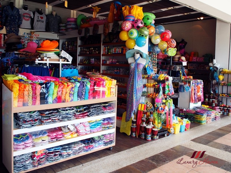 bintan lagoon resort facilities souvenir shopping