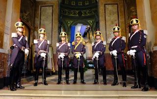 Siete granaderos custodios de San Martín