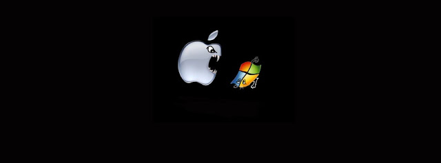 Couverture Facebook Mac eating Windows