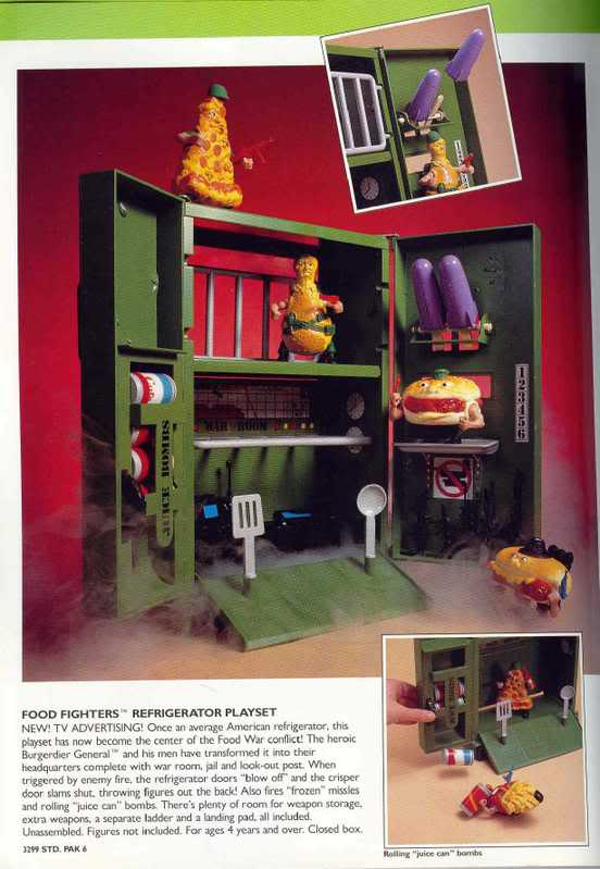 The Toy Box Food Fighters Mattel