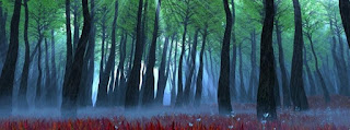 forest tress facebook cover