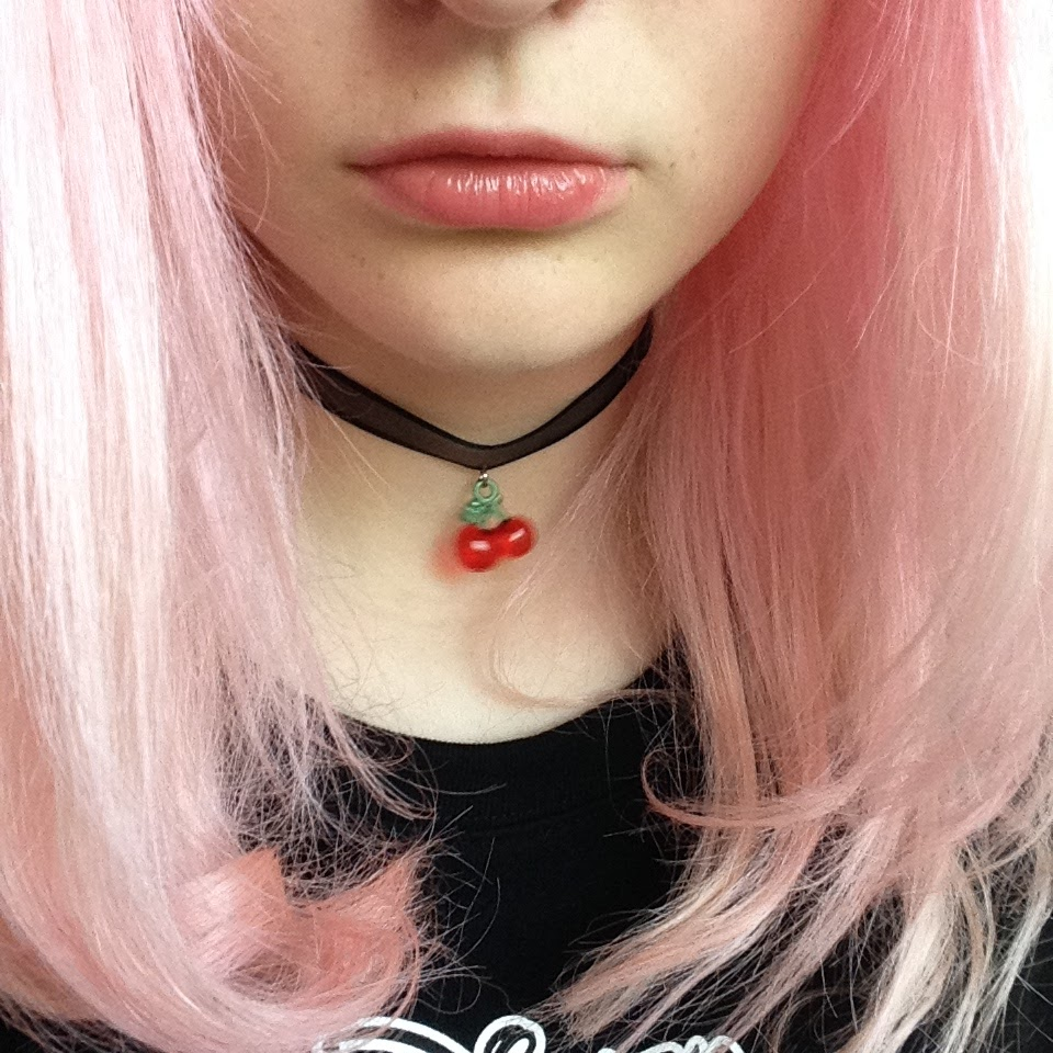 Bleach London Rose Pastel Pink hair