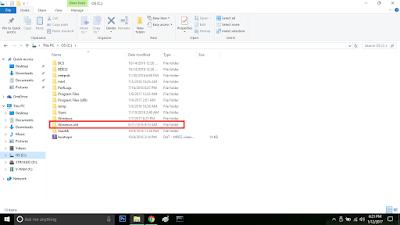 Cara Menghapus Instalan OS Window Lama.