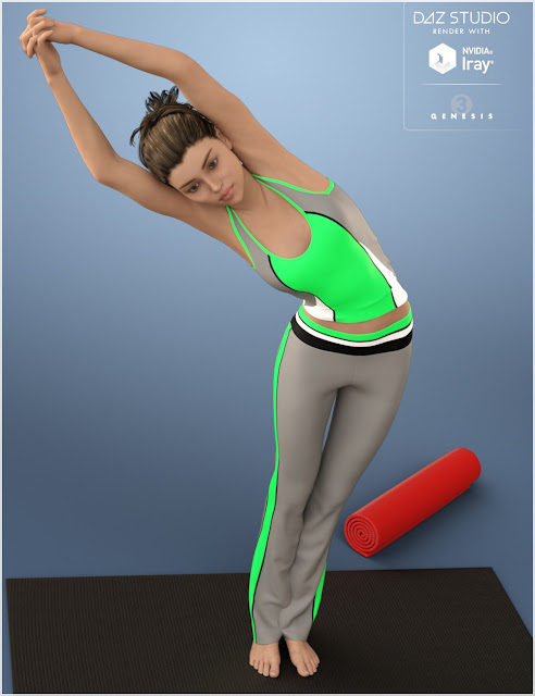 Yoga for Genesis 3 Female