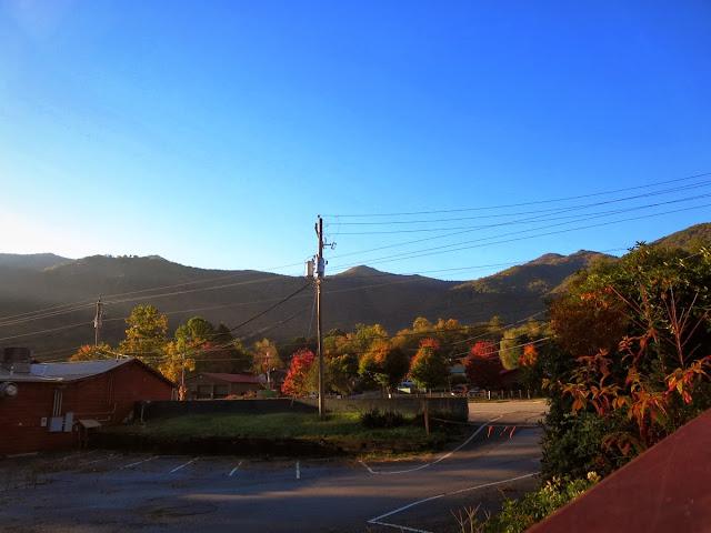 Sunrise in Maggie Valley North Carolina