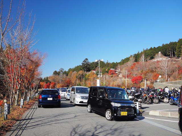 秩父 三峯神社 駐車場