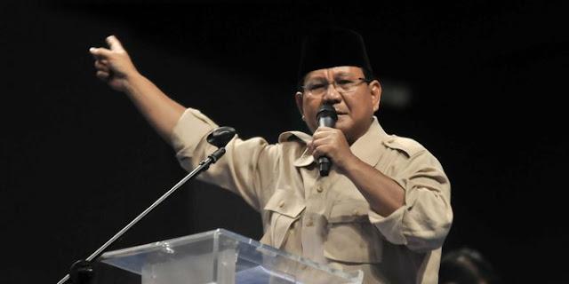 Bersama Gerindra, Prabowo Yakin Membawa Kemakmuran Bangsa
